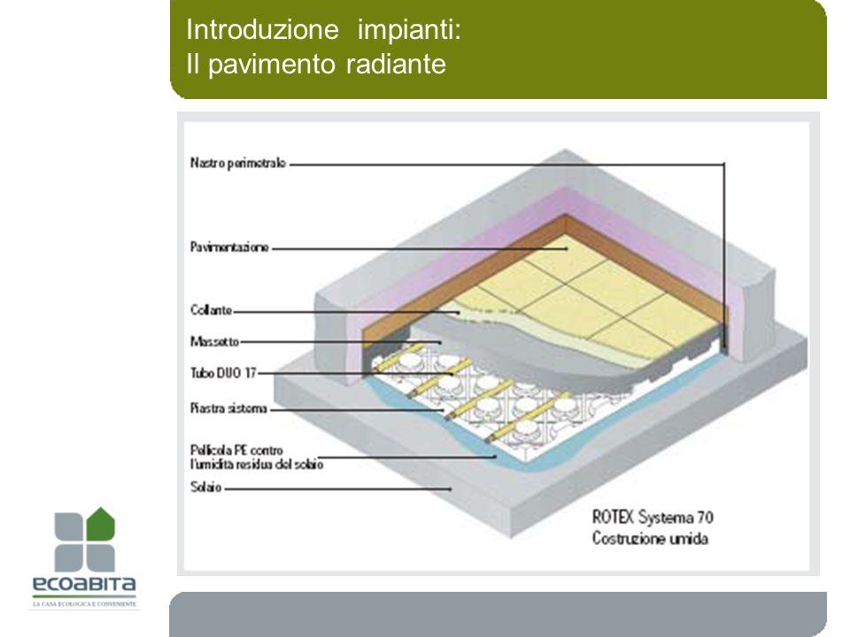 Introduzione impianti: Il pavimento radiante