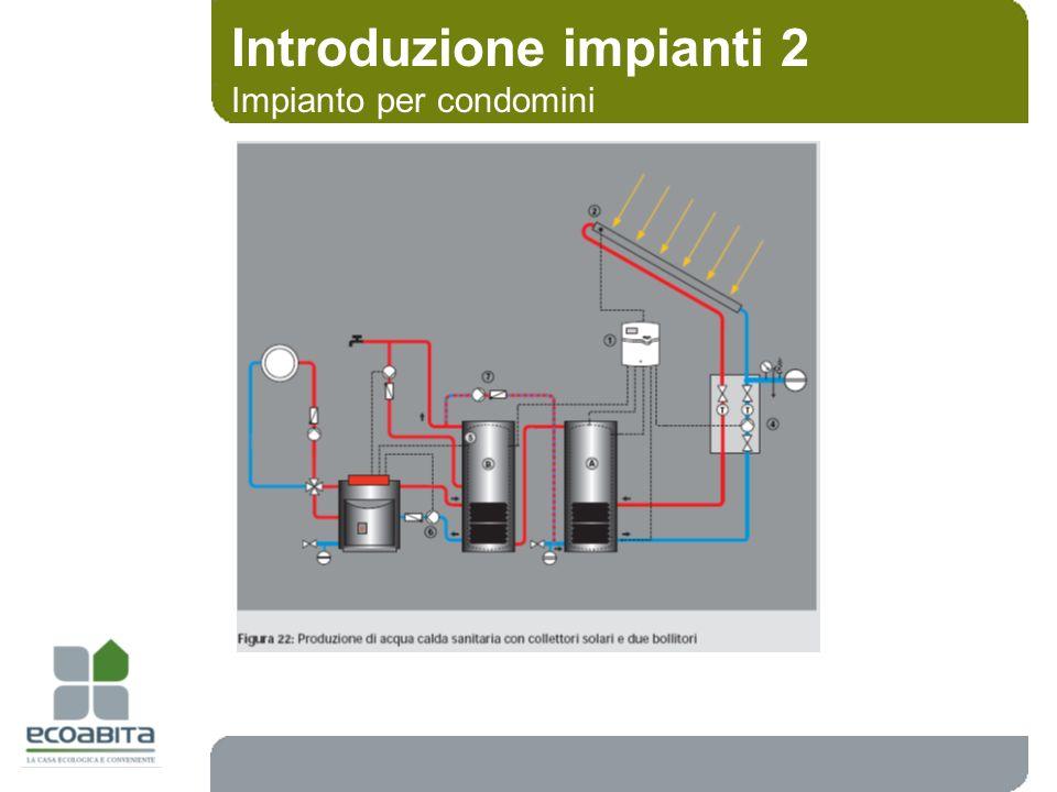Introduzione impianti 2 Impianto per condomini