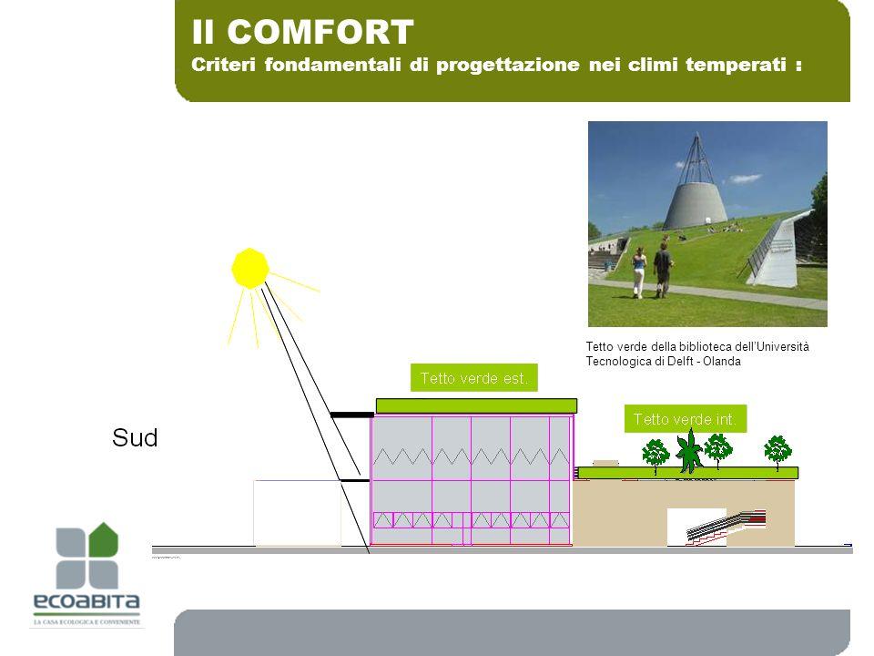 Criteri fondamentali di progettazione nei climi temperati : Il COMFORT Tetto verde della biblioteca dellUniversità Tecnologica di Delft - Olanda