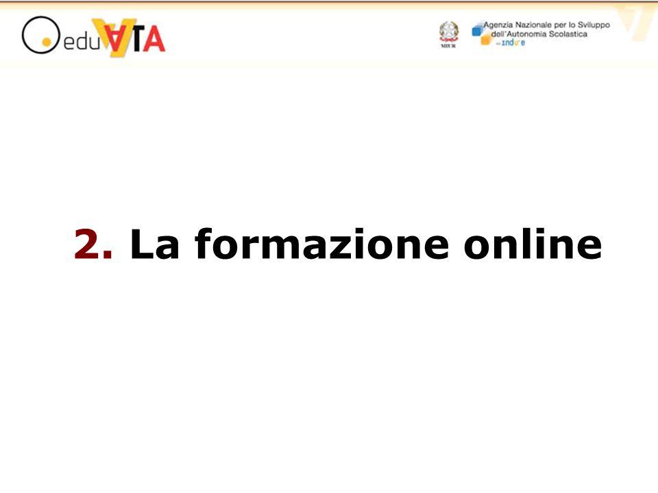2. La formazione online