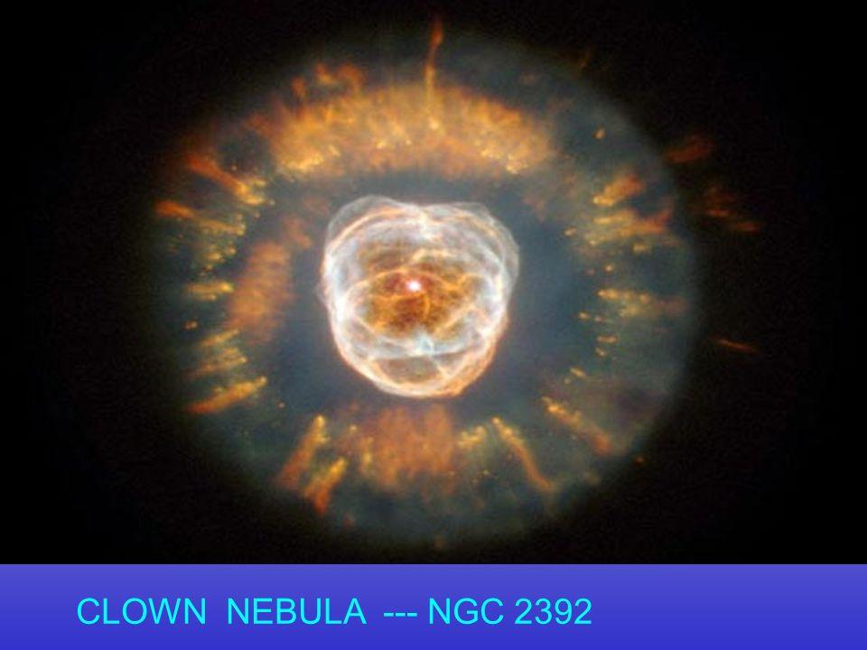 CLOWN NEBULA --- NGC 2392