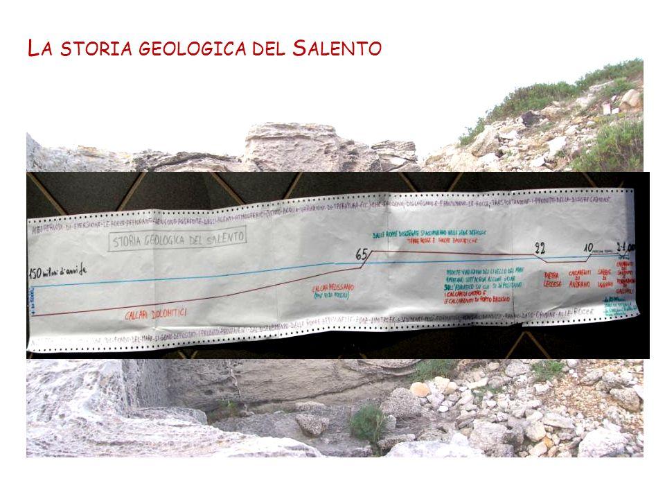 L A STORIA GEOLOGICA DEL S ALENTO