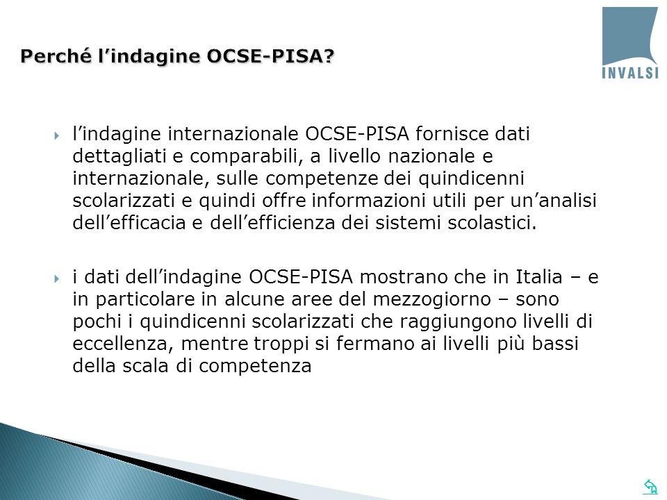Perché lindagine OCSE-PISA.