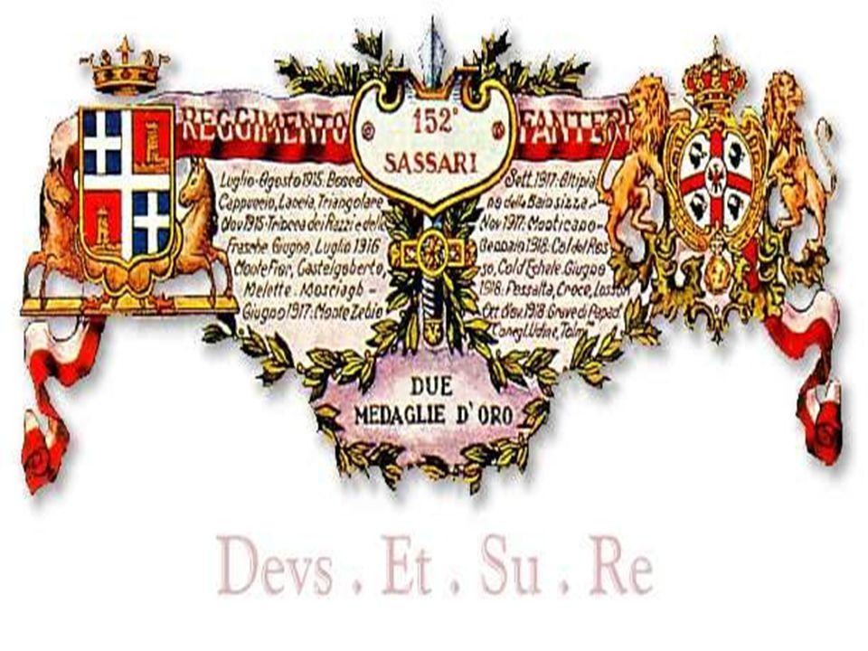 Storia della Brigata Sassari S A V I D A P R O S A P A T R I a
