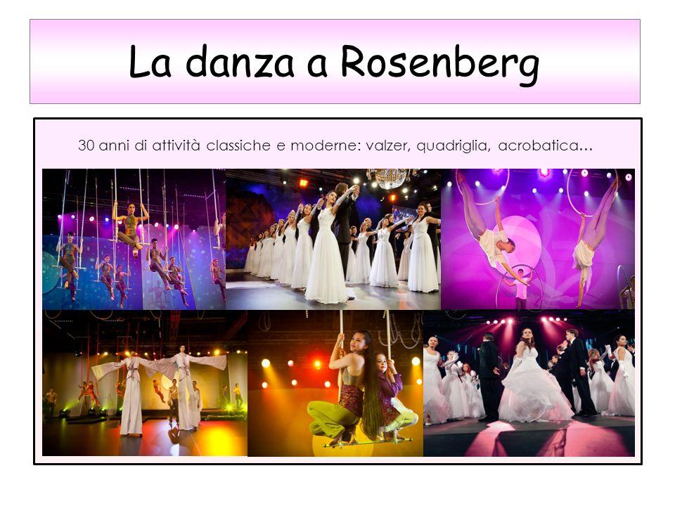 30 anni di attività classiche e moderne: valzer, quadriglia, acrobatica… La danza a Rosenberg