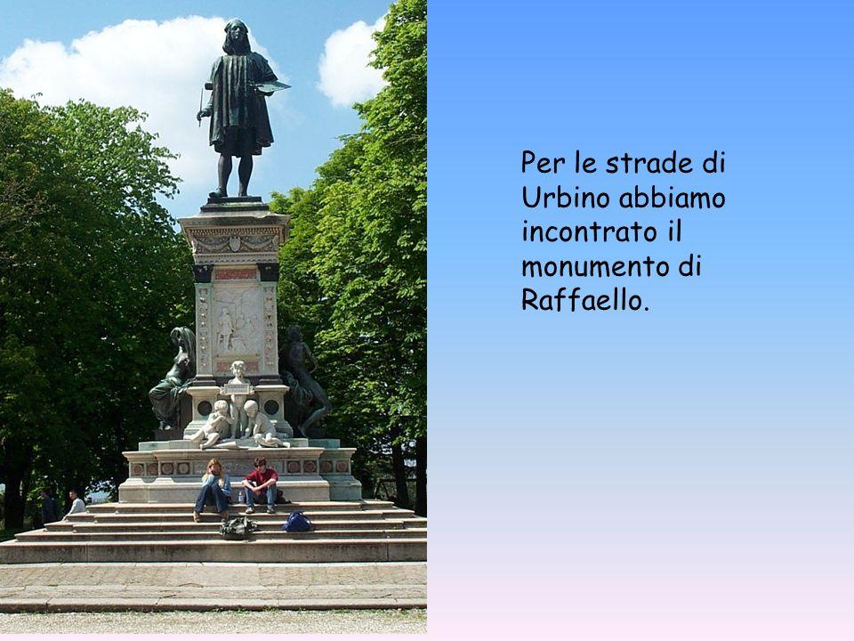 Bella la veduta di Urbino !