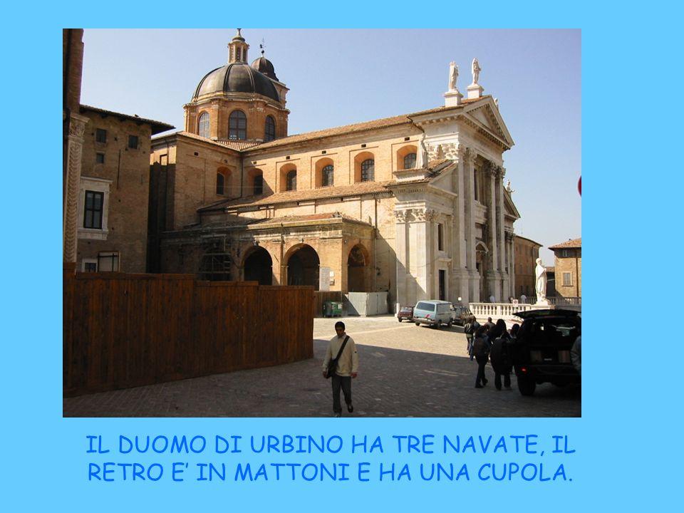 Timpano del Duomo di Urbino