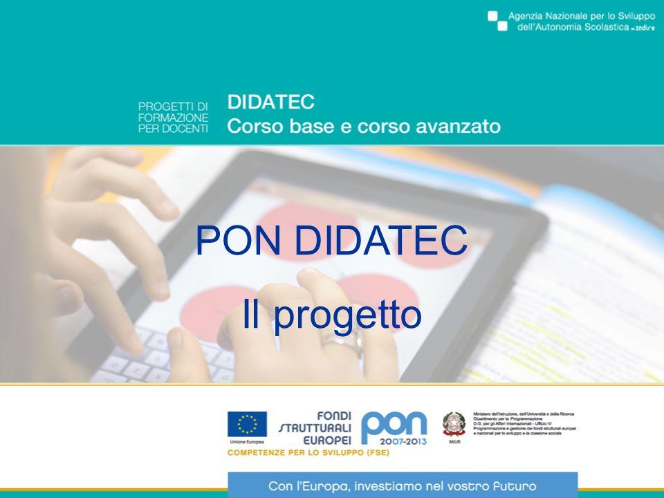 DIDATEC livello base Il percorso di alfabetizzazione tecnologica, nella fase iniziale della formazione, si svolge prevalentemente in aula con il supporto del tutor.