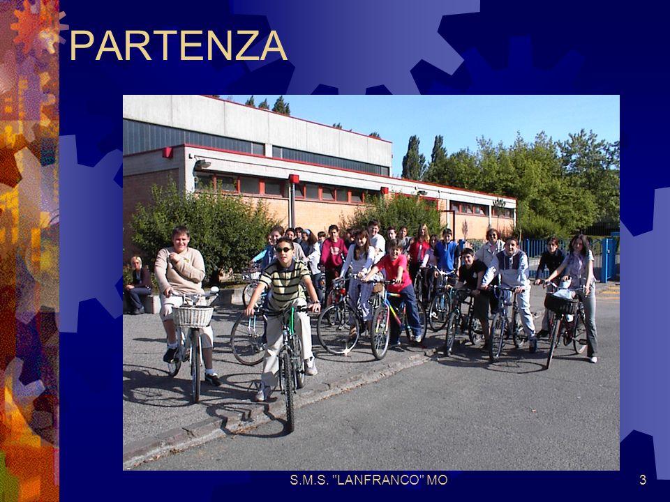 S.M.S. LANFRANCO MO4 BELLA PISTA