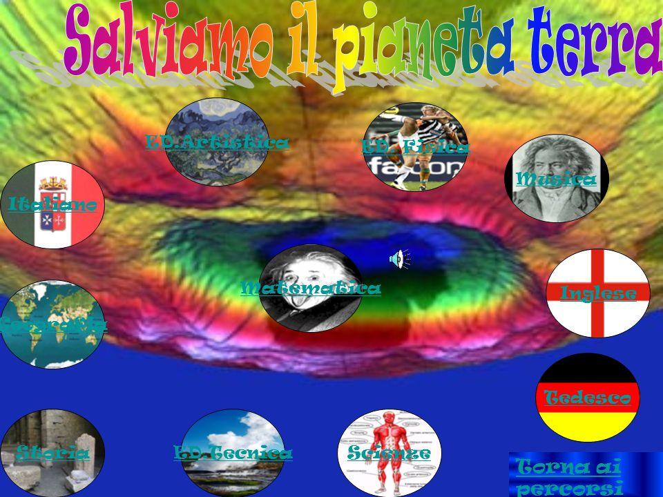 Italiano Geografia Storia ED.Artistica ED. Fisica Inglese Tedesco Musica Matematica ScienzeED.Tecnica Torna ai percorsi