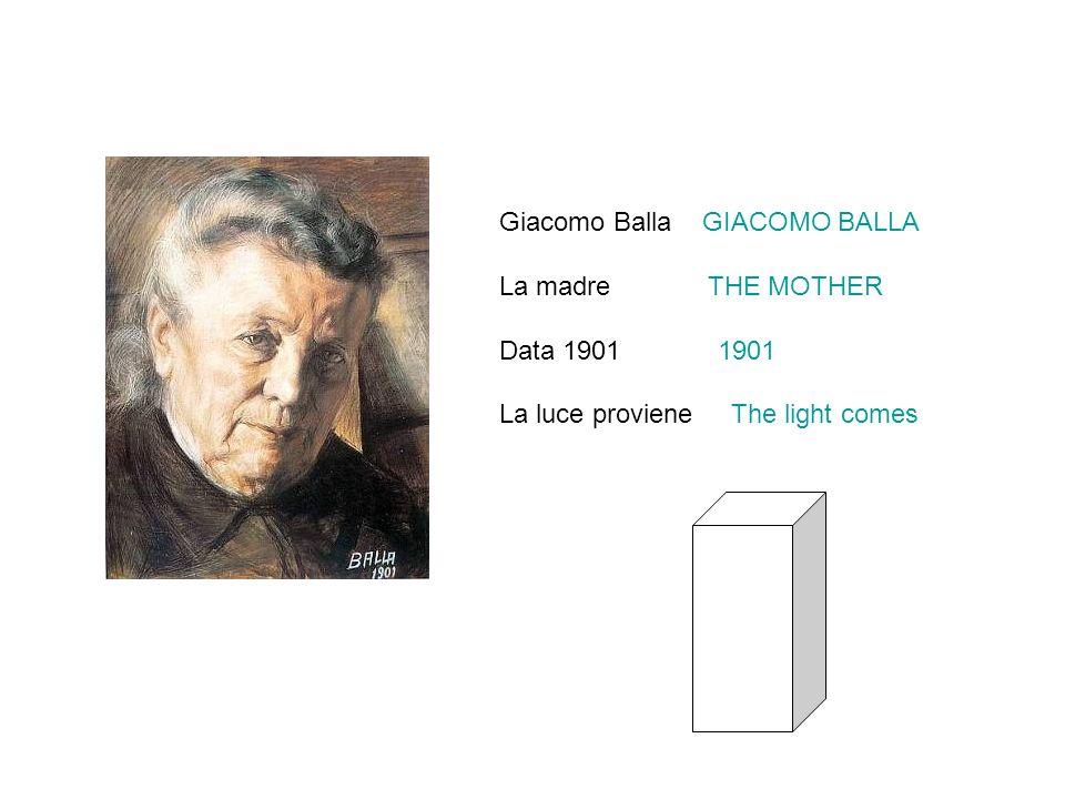 La madre THE MOTHER Data 1901 1901 La luce proviene The light comes
