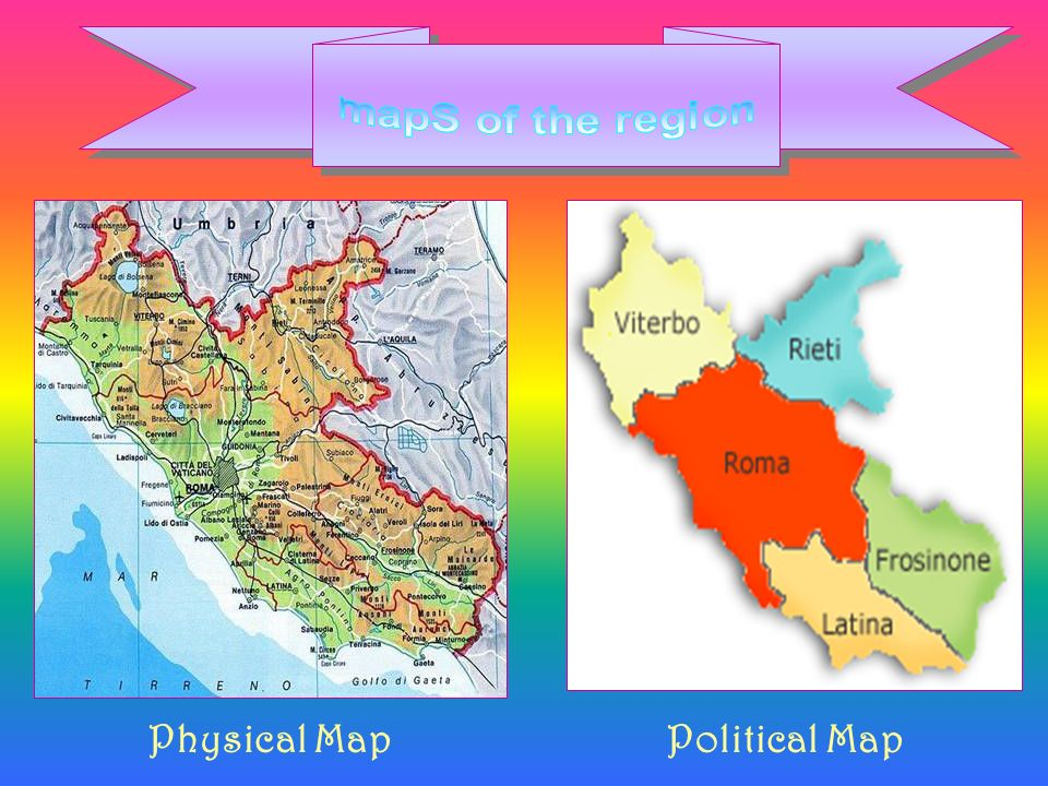 Physical MapPolitical Map