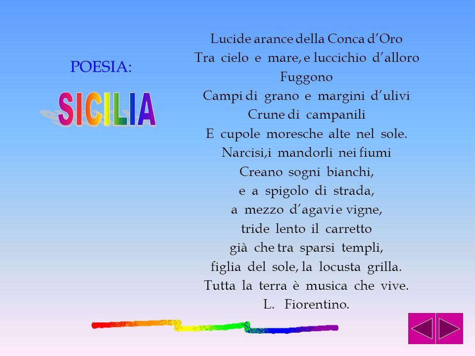 … E LA SICILIA TORNO A RISPLENDERE