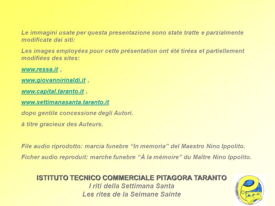 Le immagini usate per questa presentazione sono state tratte e parzialmente modificate dai siti: Les images employées pour cette présentation ont été