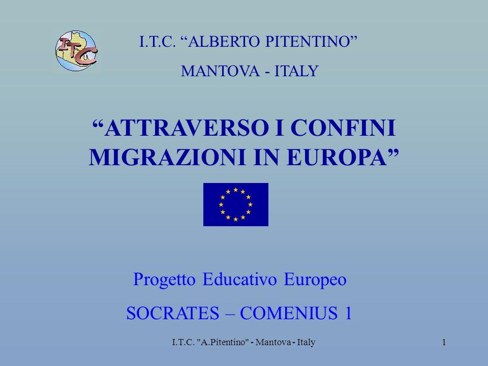 I.T.C. A.Pitentino - Mantova - Italy12 IMMIGRATI IN BASE AL SESSO