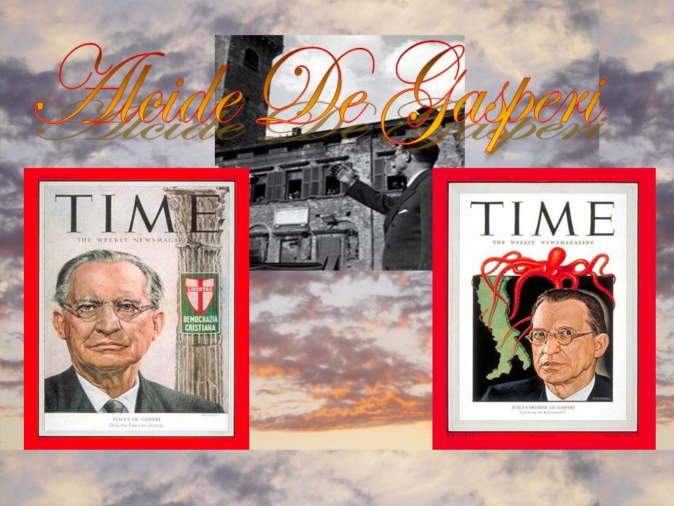 Alcide De Gasperi (3 April 1881 – 19 August 1954) w as an Italianstatesman and politician.