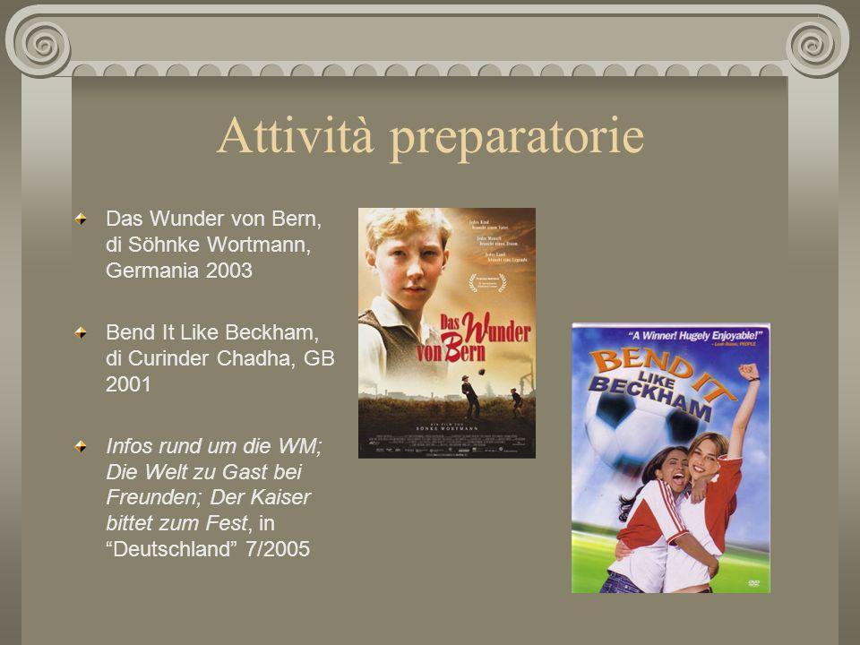 Sintesi del progetto In vista dei due eventi del 2006, le Olimpiadi invernali a Torino e i mondiali di calcio in Germania, intendiamo compiere una rif