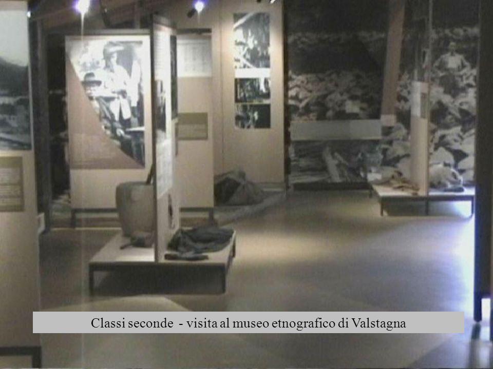 Classi seconde - visita al museo etnografico di Valstagna