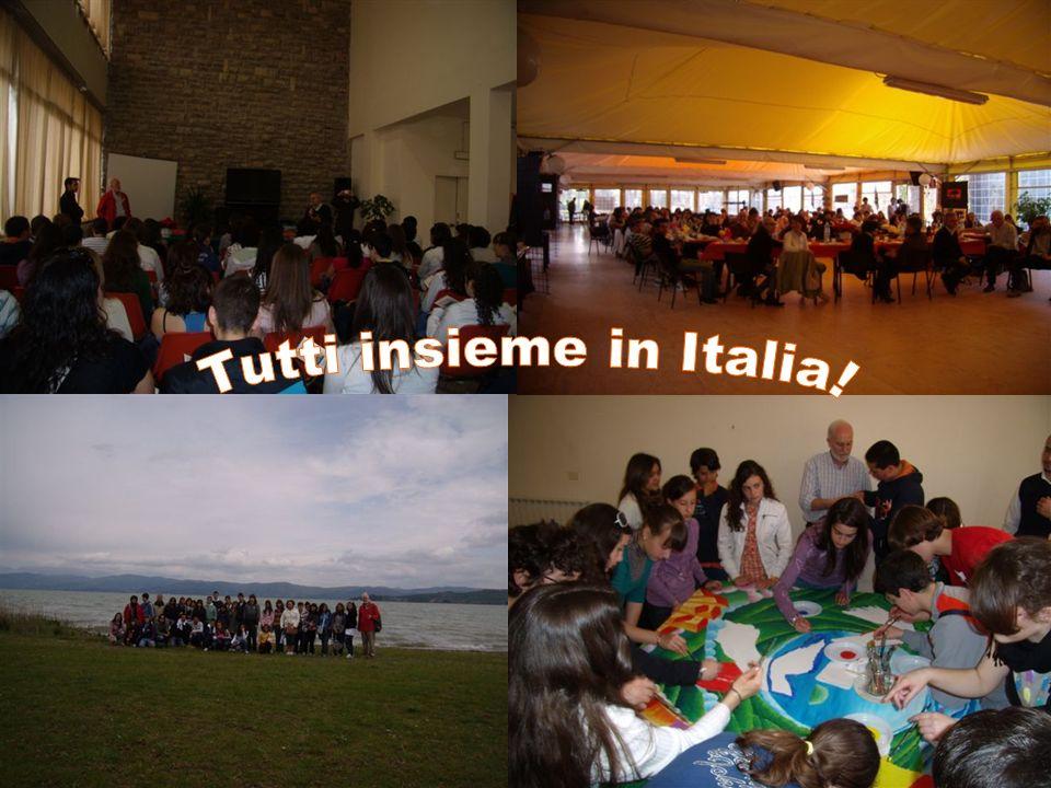 Tutti insieme in Italia!