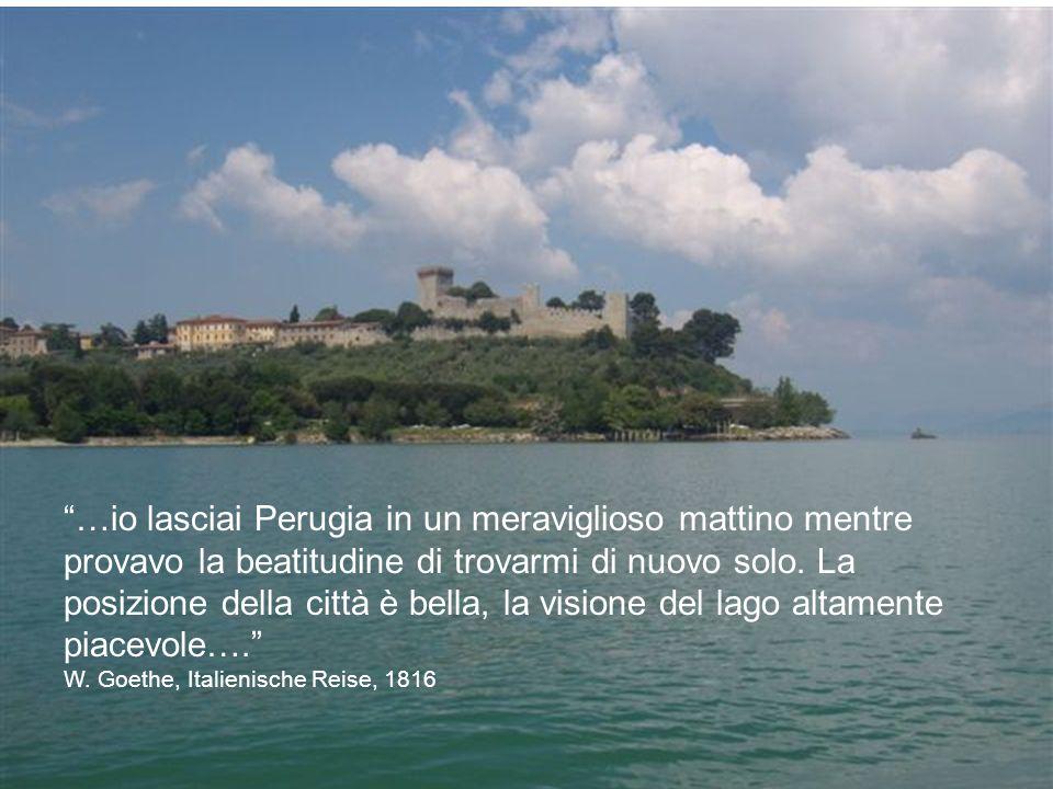 …io lasciai Perugia in un meraviglioso mattino mentre provavo la beatitudine di trovarmi di nuovo solo.
