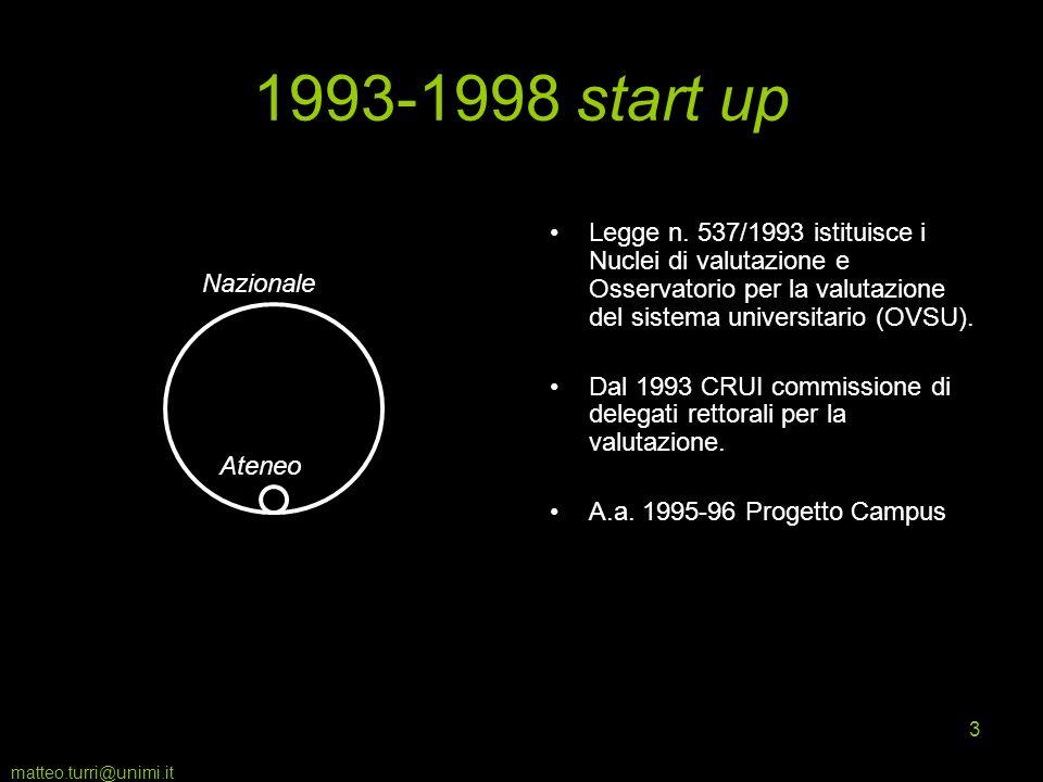 matteo.turri@unimi.it 4 A livello di sistema la denominazioneOsservatorio è significativa.
