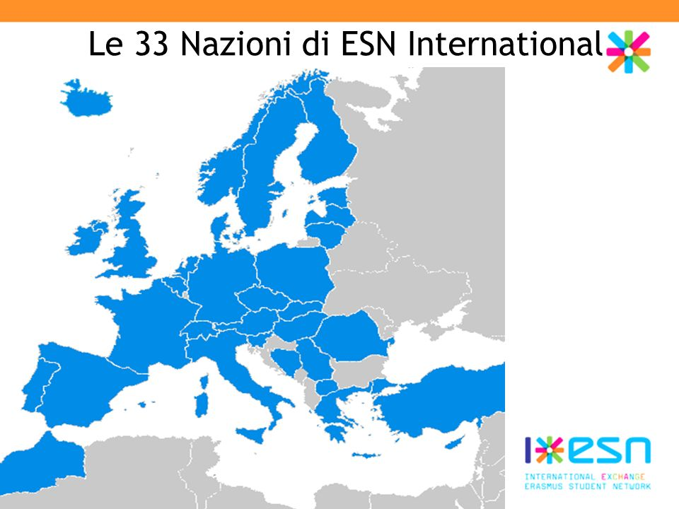 Le 33 Nazioni di ESN International