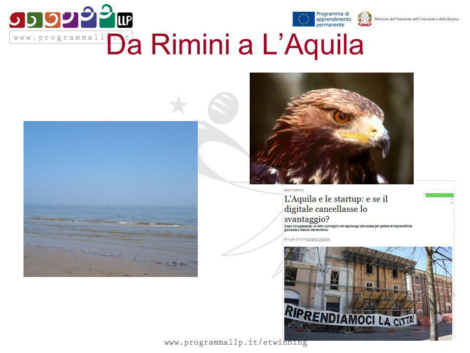 Da Rimini a LAquila