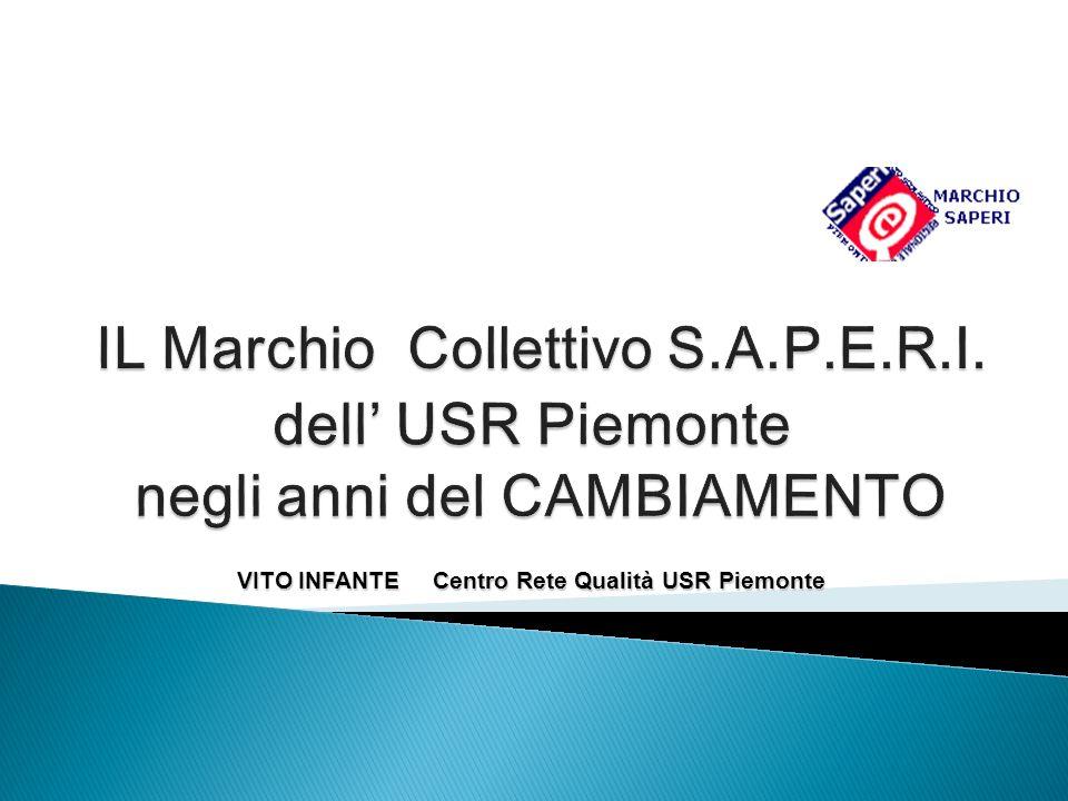 VITO INFANTE Centro Rete Qualità USR Piemonte VITO INFANTE Centro Rete Qualità USR Piemonte