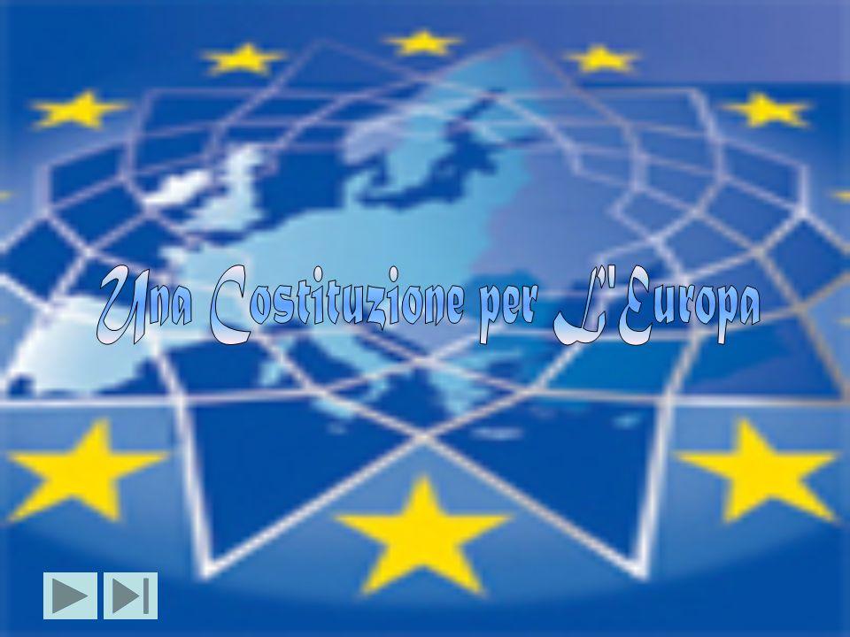A Roma,il 29 ottobre 2004, nella Sala degli Orazi e Curiazi del Palazzo dei Conservatori, in piazza del Campidoglio, ha avuto luogo la cerimonia con cui i Capi di Stato e di Governo ed I Ministri degli Affari Esteri dei 25 Stati Membri dell Unione Europea hanno sottoscritto il Trattato e l Atto finale che stabiliscono una Costituzione per l Europa.