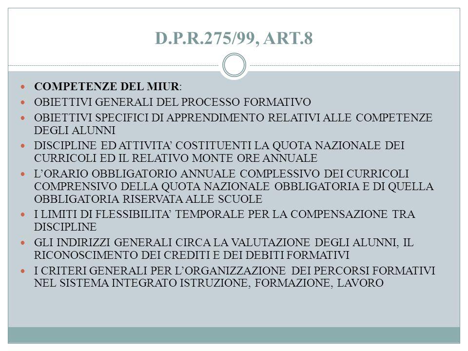 IL D.P.R. 275/99, ART.3 OGNI ISTITUZIONE SCOLASTICA PREDISPONE, CON LA PARTECIPAZIONE DI TUTTE LE SUE COMPONENTI, IL POF, DOCUMENTO COSTITUTIVO DELLID