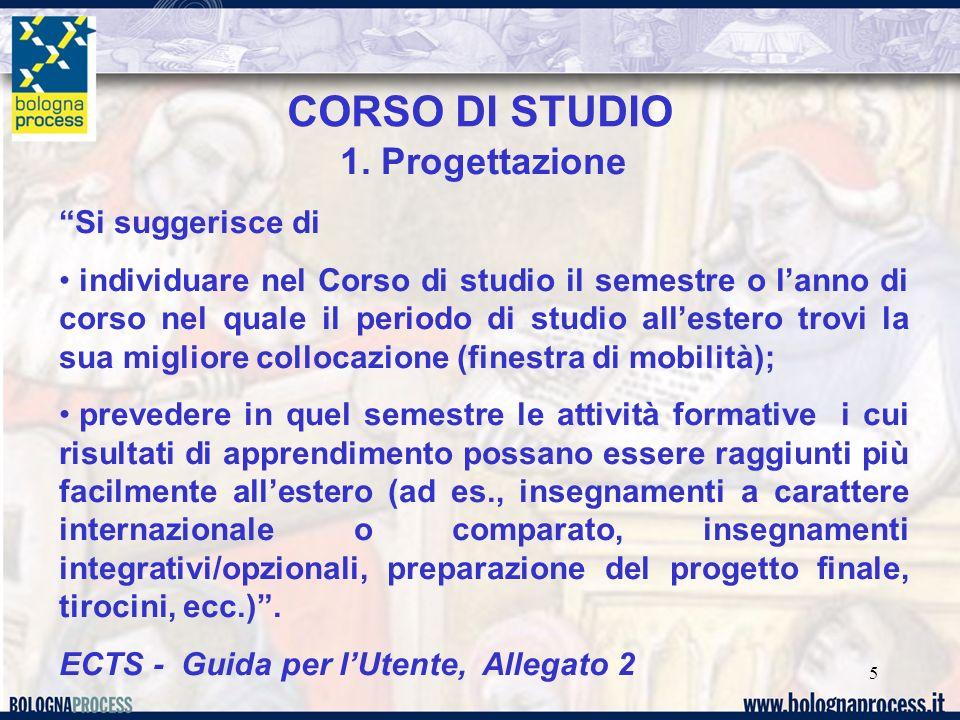 5 CORSO DI STUDIO 1.