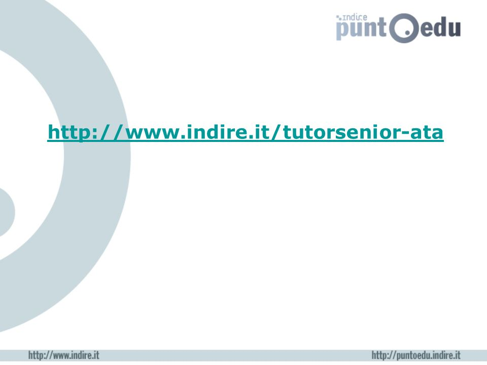 http://www.indire.it/tutorsenior-ata