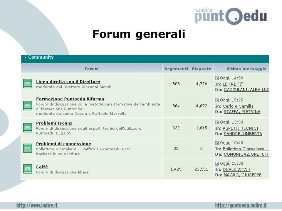 Forum generali