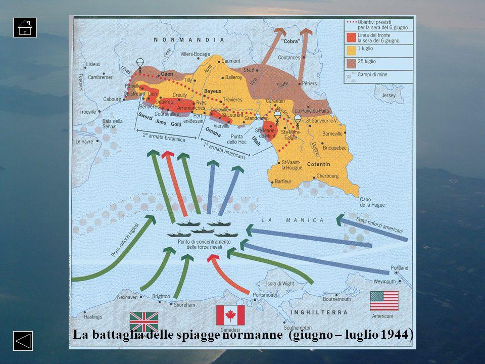 La battaglia delle spiagge normanne (giugno – luglio 1944 )
