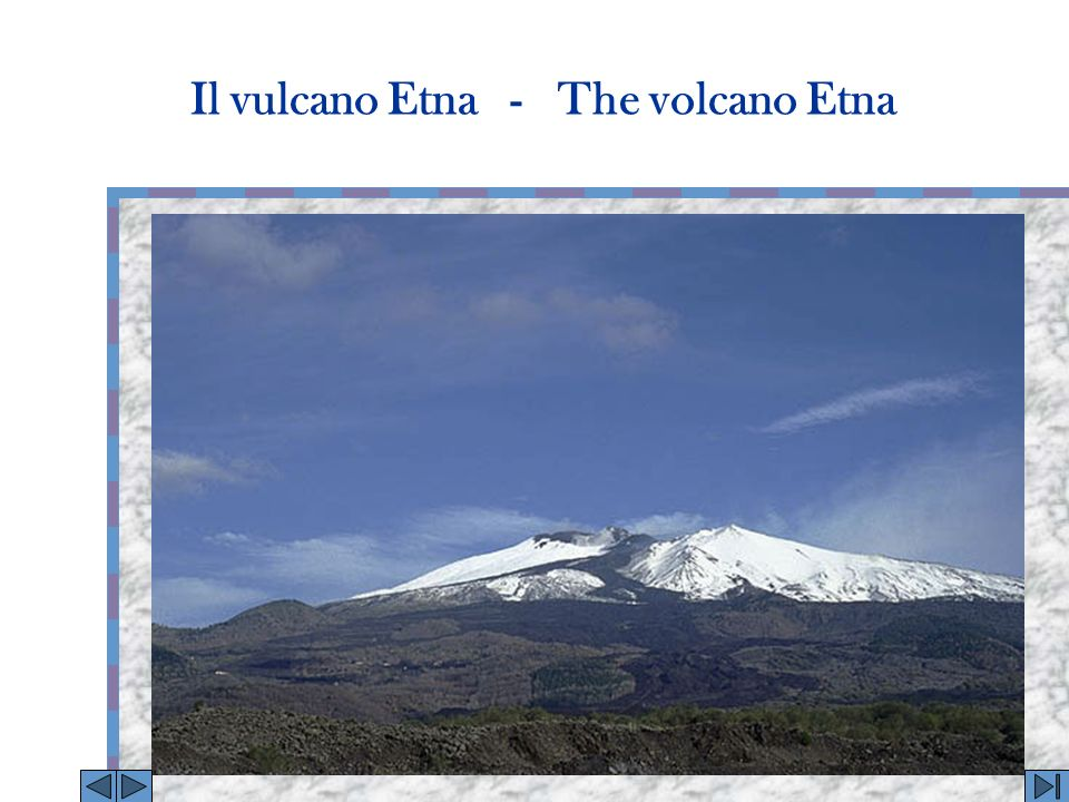 A seguito dell attività sismica ed effusiva avutasi nel corso del 2001, l Etna ha subito profonde modifiche morfologiche.
