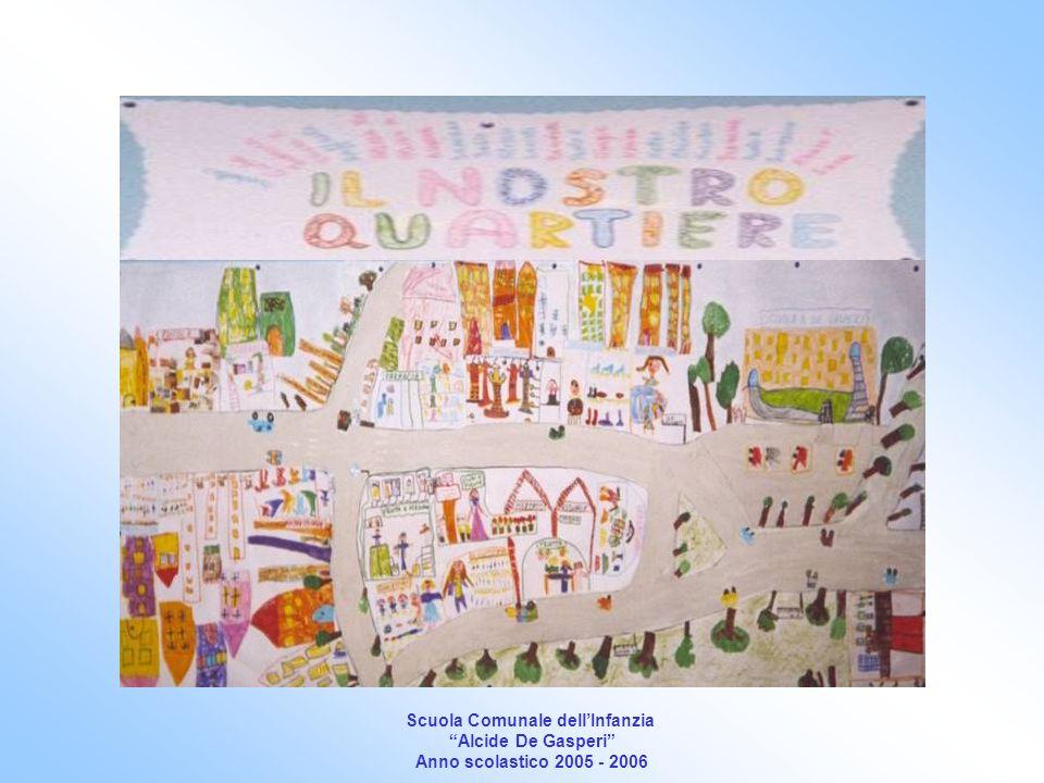 Scuola Comunale dellInfanzia Alcide De Gasperi Anno scolastico 2005 - 2006