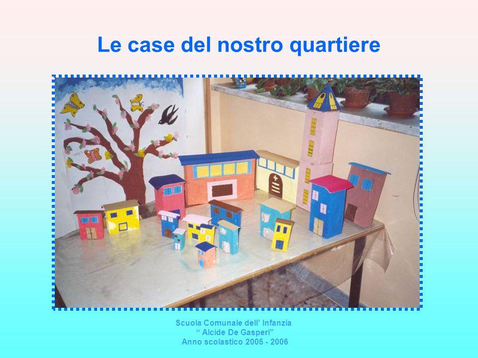 I segnali stradali del quartiere Scuola Comunale dellInfanzia Alcide De Gasperi Anno scolastico 2005 - 2006