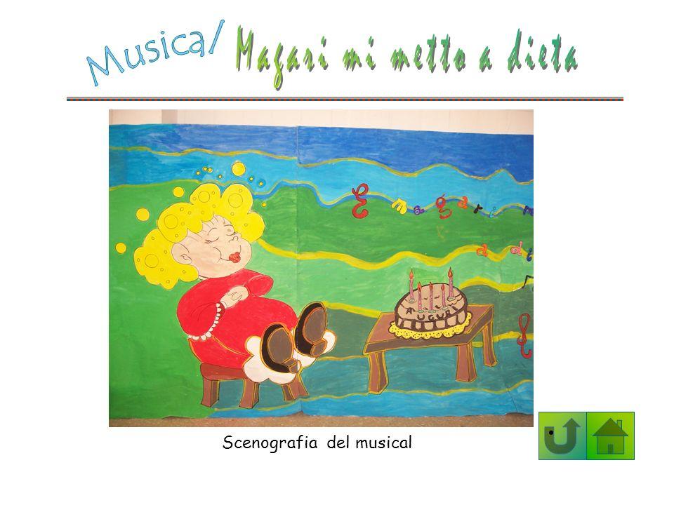 Scenografia del musical
