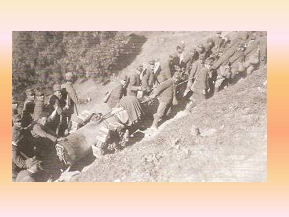 Monterado: i soldati polacchi portano al sicuro i bambini dellasilo