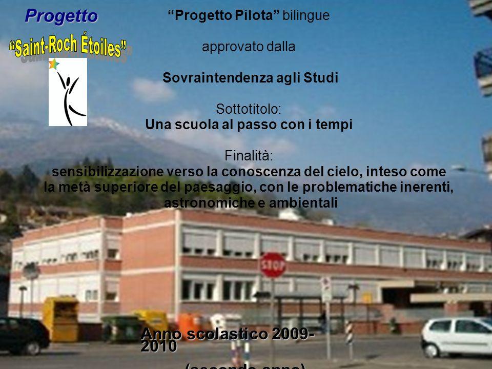 POF a.s. 2008-2009 a.s. 2008-2009 Istituzione Scolastica Saint-Roch