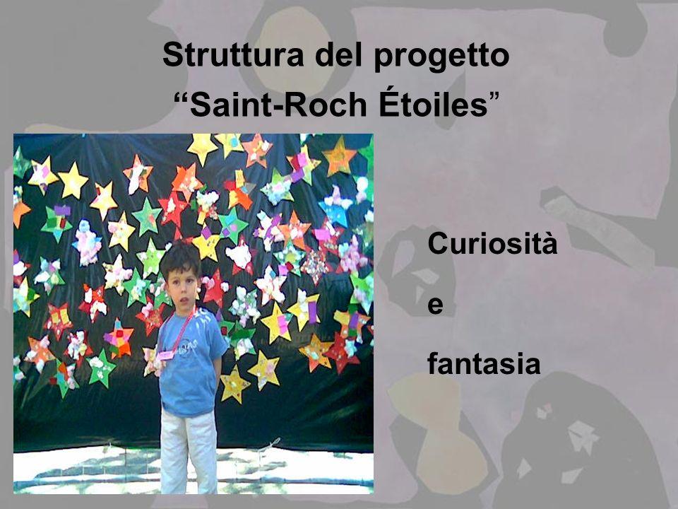 Struttura del progetto Saint-Roch Étoiles Curiosità e fantasia
