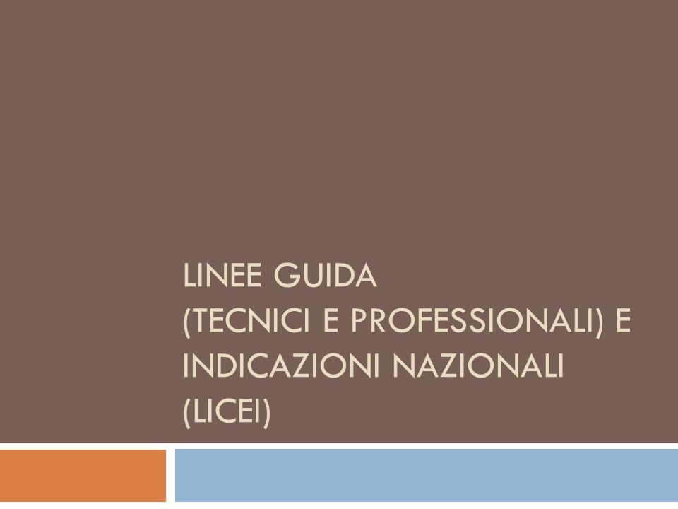 Missione formativa dellistruzione tecnica e professionale Formazione del cittadino con unofferta formativa che valorizza la cultura del lavoro e delle professioni