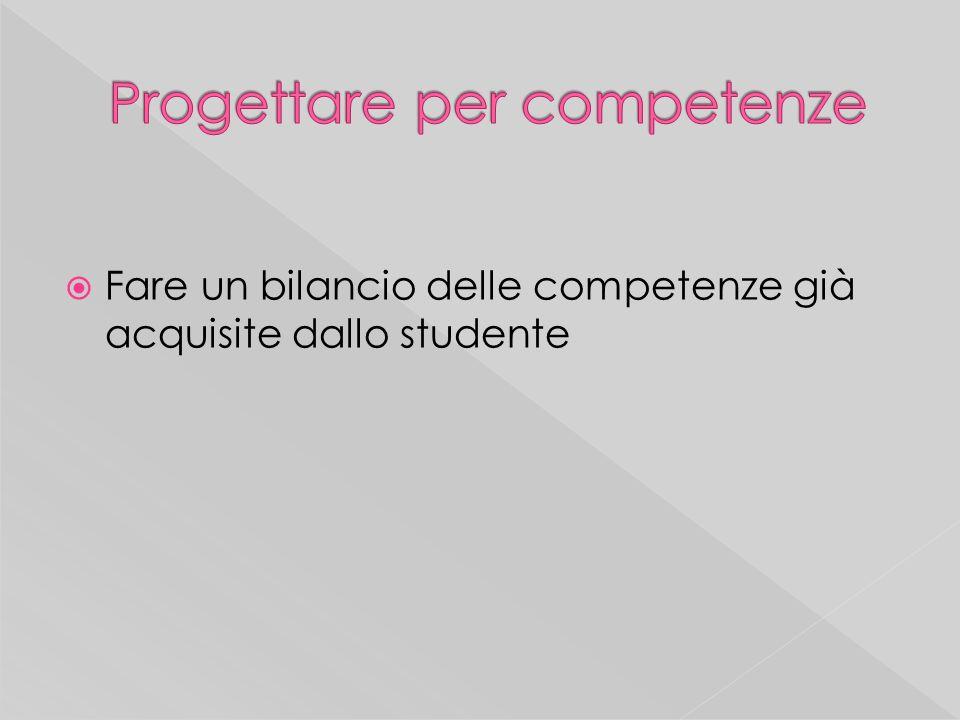 Chiarire lapporto delle singole discipline allo sviluppo delle competenze e dei risultati attesi (indicatori del profilo in uscita dello studente)