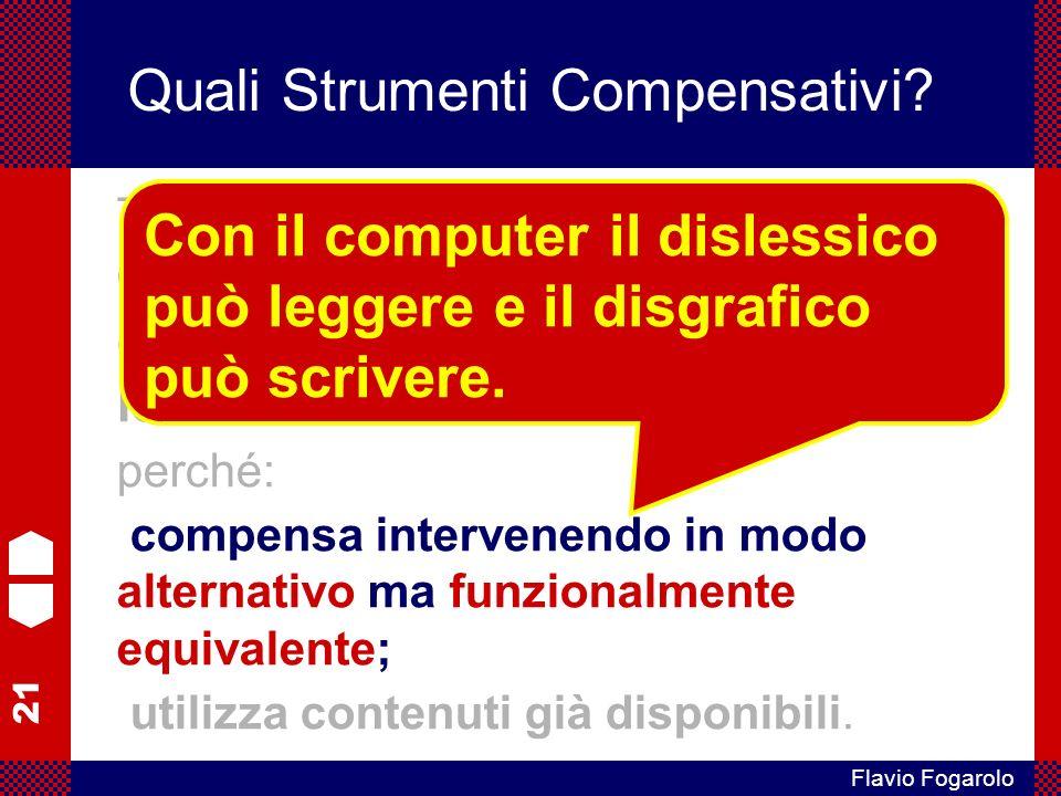 21 Flavio Fogarolo Quali Strumenti Compensativi.