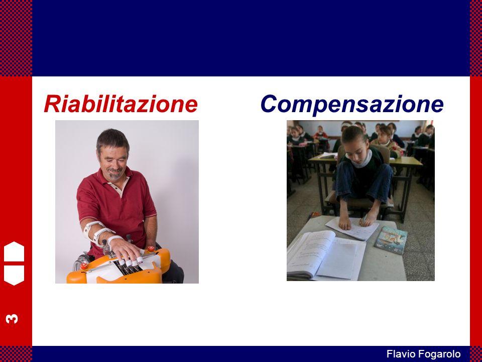 4 Flavio Fogarolo RiabilitazioneCompensazione sono interventi di tipo opposto