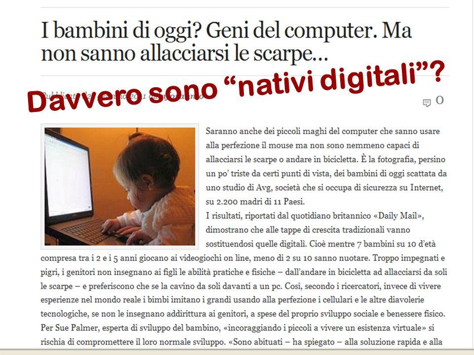 38 Flavio Fogarolo Davvero sono nativi digitali?