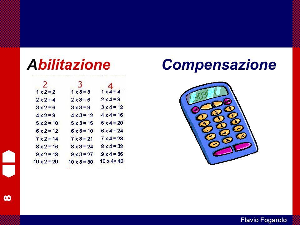 109 Flavio Fogarolo Abilitazione logopedica Strumenti compensativi Misure dispensative Diagnosi La presa in carico