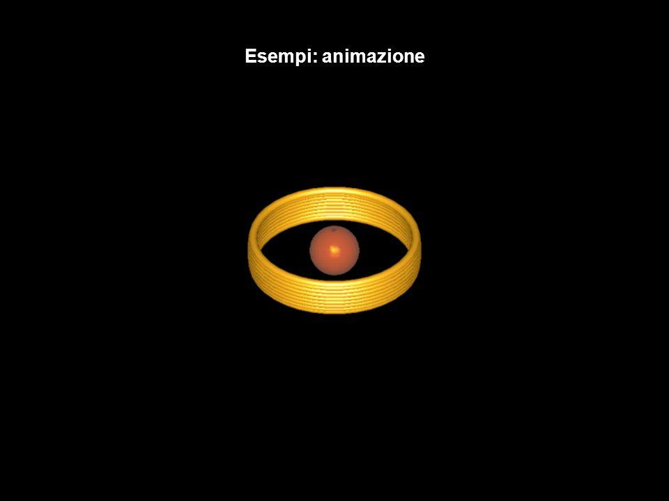 Esempi: animazione