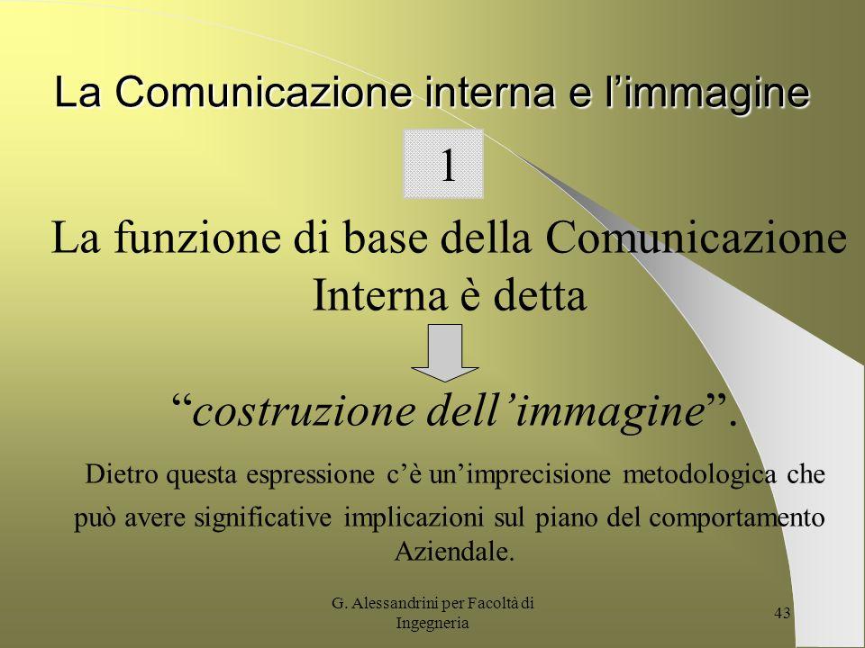 G. Alessandrini per Facoltà di Ingegneria 42 CompetizioneCompetenza Integrazione IntegrazioneVelocità UN ESEMPIO: LA CARTA VALORI TELECOM