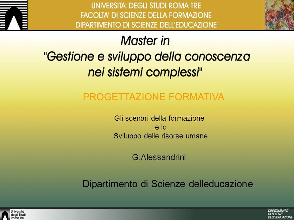 G. Alessandrini per Facoltà di Ingegneria 66 ESEMPI DI LAYOUT LUSO DI PROCESSI DI e LEARNING PORTALE DELLA FORMAZIONE LUSO DI UNIMMAGINE SCHEMATIZZAZI